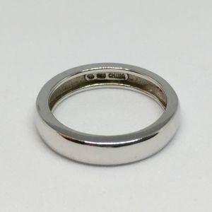 Sterling Silver Band Ring 4mm 925
